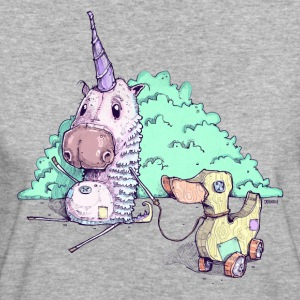 The little unicorn - Women's Organic T-shirt