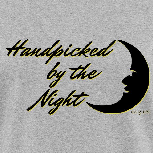 Handpicked design By The Night - Logo Black