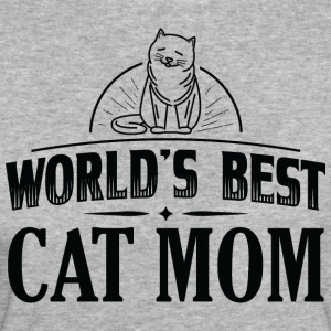 CAT WORLDS BEST CAT MOM B - Women's Organic T-shirt
