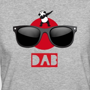 Panda sun dab it dabbing Dance Football touchdown - Frauen Bio-T-Shirt
