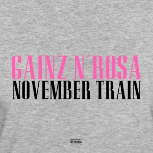 Gainz n'Rosa - November Train Shirt Women's Fitness - Women's Organic T-shirt