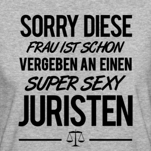 SUPER SEXY JURISTEN - Frauen Bio-T-Shirt
