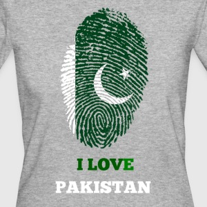 I LOVE PAKISTAN - Frauen Bio-T-Shirt