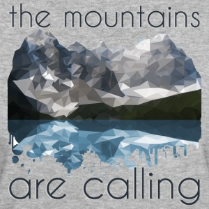 the mountains are calling - Women's Organic T-shirt