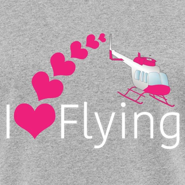 I love flying heli pink