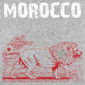 Nation-Design Morocco Lion - Women's Organic T-shirt