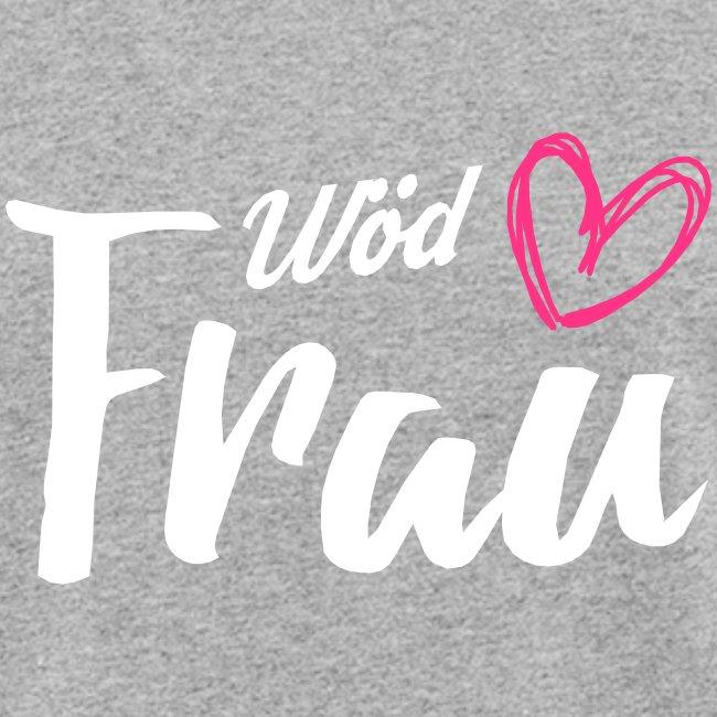 Vorschau: Wöd Frau - Frauen Bio-T-Shirt