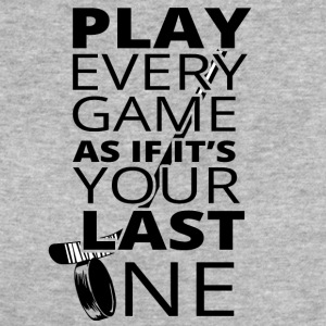 Hockey: Play every game as if it's your last - Women's Organic T-shirt