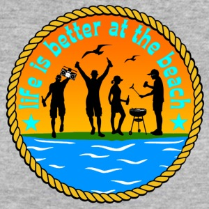 Life is better at beach - Frauen Bio-T-Shirt