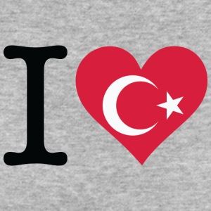 I Love Turkey - Women's Organic T-shirt
