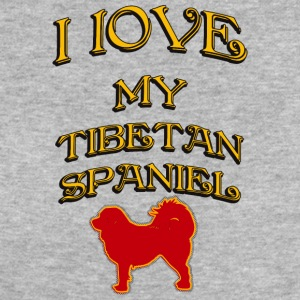 I LOVE MY DOG Tibetan Spaniel - Women's Organic T-shirt