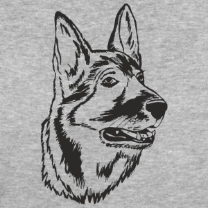 German shepherd dog - Women's Organic T-shirt