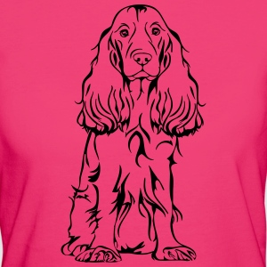 COCKER SPANIEL sitting - Women's Organic T-shirt
