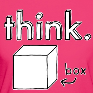 Think Outside The Box Illustration - Frauen Bio-T-Shirt