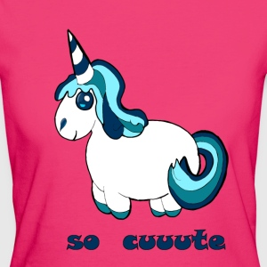 comic Unicorn - T-shirt ecologica da donna