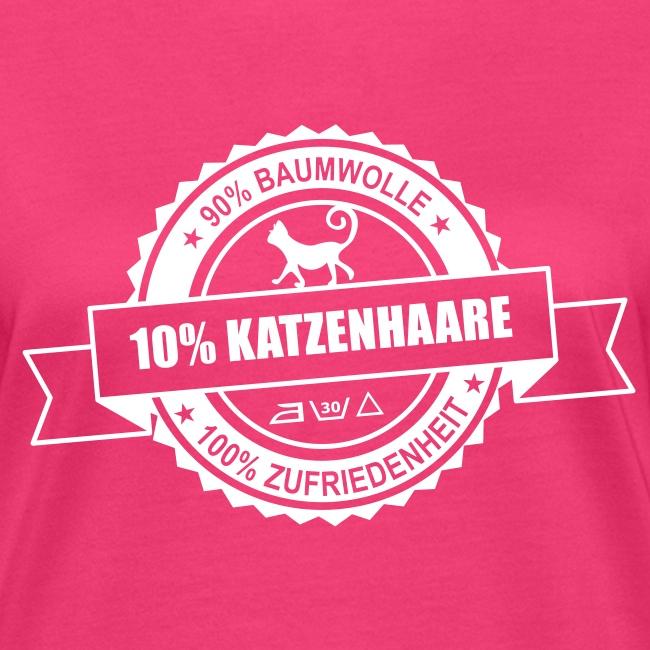 Vorschau: katzenhaare - Frauen Bio-T-Shirt