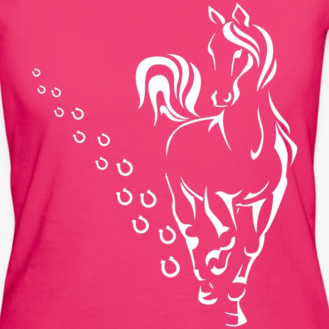 HORSEWALK - Frauen Bio-T-Shirt