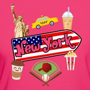 I love New York - T-shirt ecologica da donna