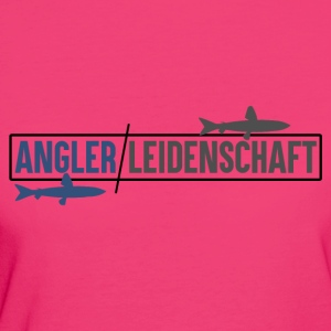 Anglers passion - anglers - Women's Organic T-shirt