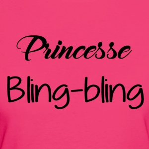 Princess bling bling - Women's Organic T-shirt