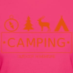 Outdoor Adventure Camp - T-shirt Bio Femme