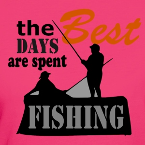Best Days - Fishing - Women's Organic T-shirt