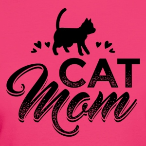 CAT CAT MOM B - Women's Organic T-shirt