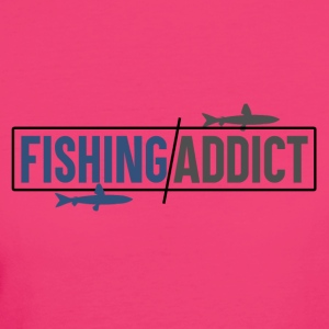 Fishing Addict - Vrouwen Bio-T-shirt