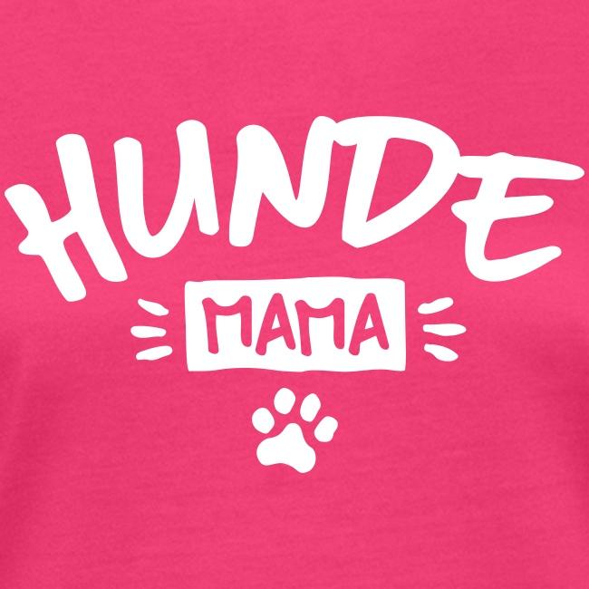 Vorschau: Hunde Mama - Frauen Bio-T-Shirt