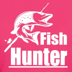 Fish Hunter - Fishing - Women's Organic T-shirt