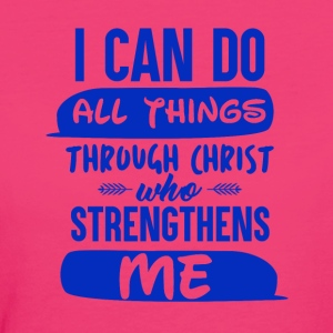 With God you can do Anything - Women's Organic T-shirt