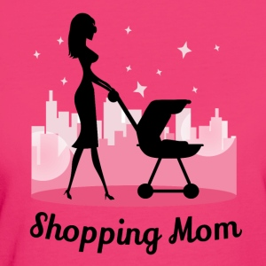 Shopping Mom - Frauen Bio-T-Shirt