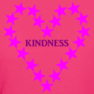 KINDNESS PINK - Frauen Bio-T-Shirt