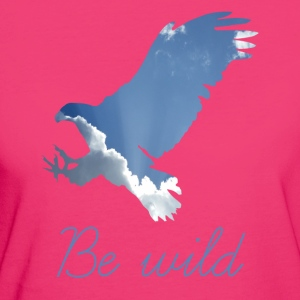 ADLER BE WILD - Women's Organic T-shirt
