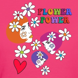 FLOWER POWER - Women's Organic T-shirt