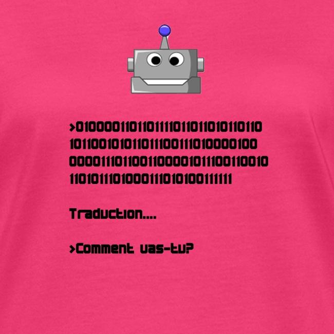 Salutation robotique