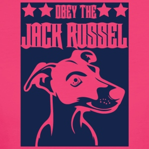 Dog / Jack Russell: Obey The Jack Russell - Women's Organic T-shirt