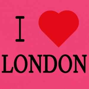 I Love London - T-shirt ecologica da donna