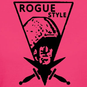 Rogue Vintage Style - T-shirt ecologica da donna