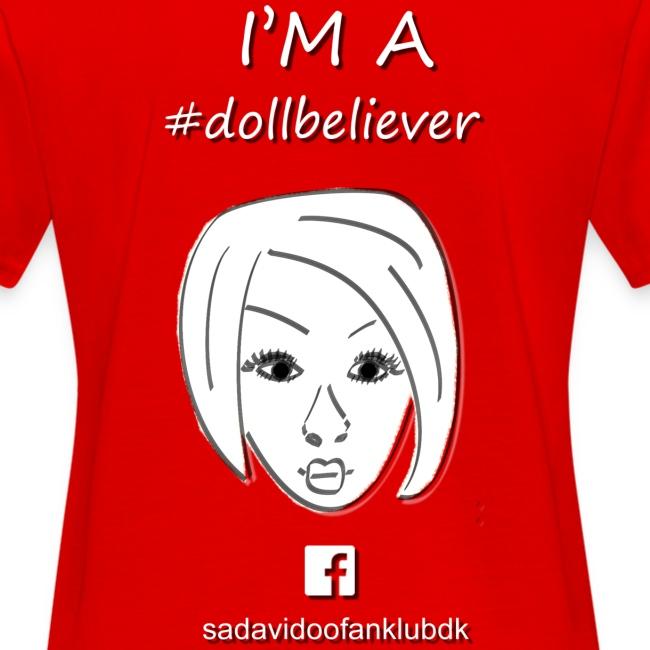 Sada Vidoo Fanklub for til lyserød t shirt
