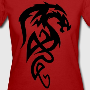 dragon Tribal - Women's Organic T-shirt