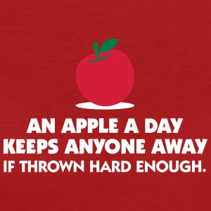 An Apple A Day Keeps Everyone Away! - Women's Organic T-shirt