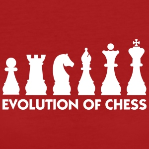 The Evolution Of Chess - Women's Organic T-shirt