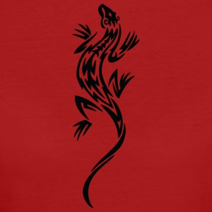 Cool lézard tribal - T-shirt Bio Femme