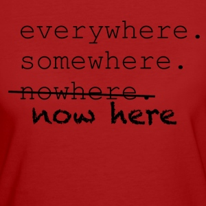 Now here - Women's Organic T-shirt