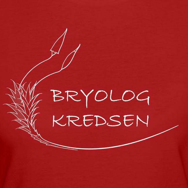 Bryologkredsen - hvidt logo