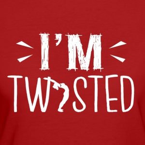 YOGA ,,I'm twisted'' - Frauen Bio-T-Shirt