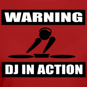 DJ ACTION - Ekologisk T-shirt dam