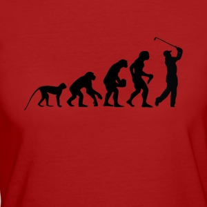 Evolution golfare - Ekologisk T-shirt dam