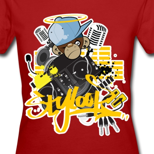 Styloop Monkey - Frauen Bio-T-Shirt